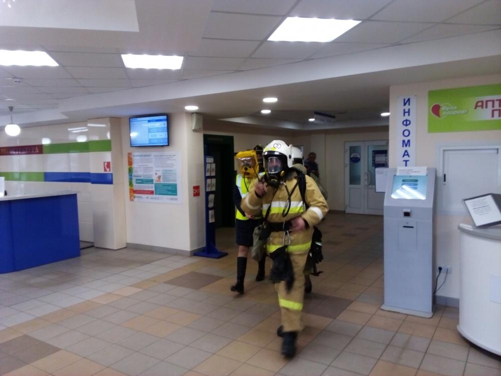 В Ярославле эвакуировали пациентов поликлиники