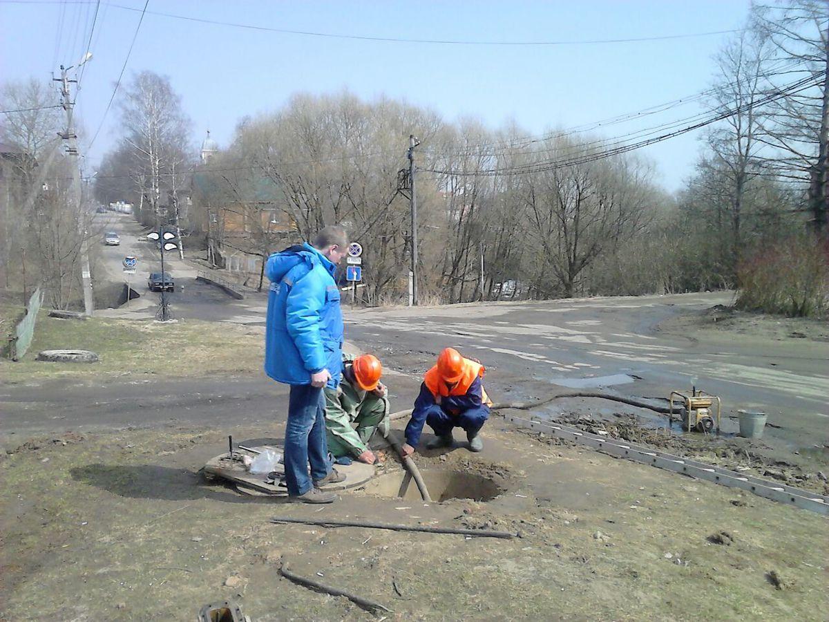 Северный водоканал приводит в порядок водоснабжение Мышкина и Мышкинского района