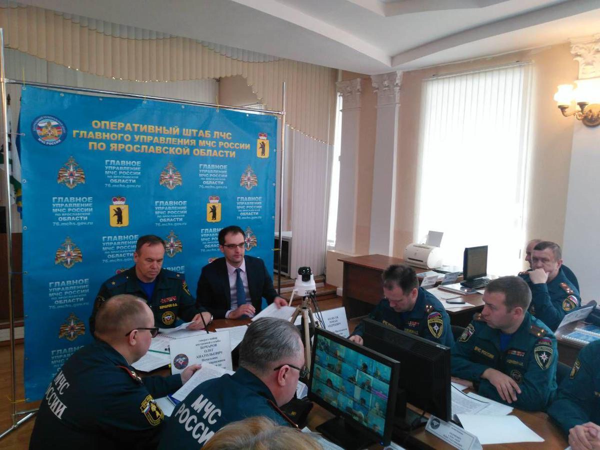 В Ярославской области начались масштабные учения по отработке ЧС в условиях природных пожаров и паводка