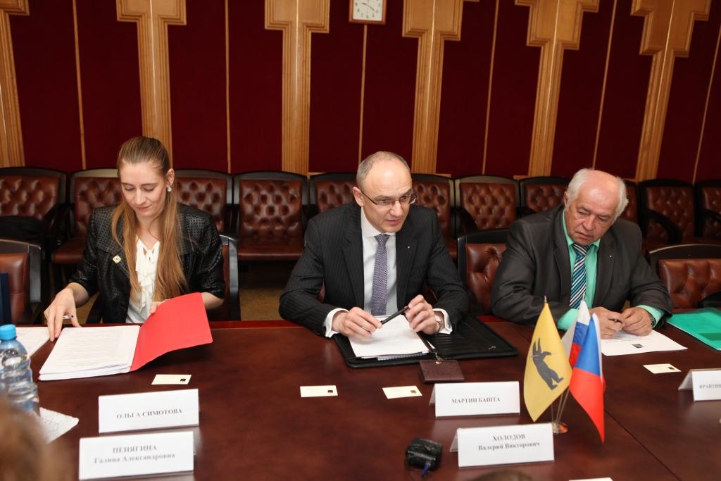 Чешская делегация оценила инвестиционный климат Ярославской области