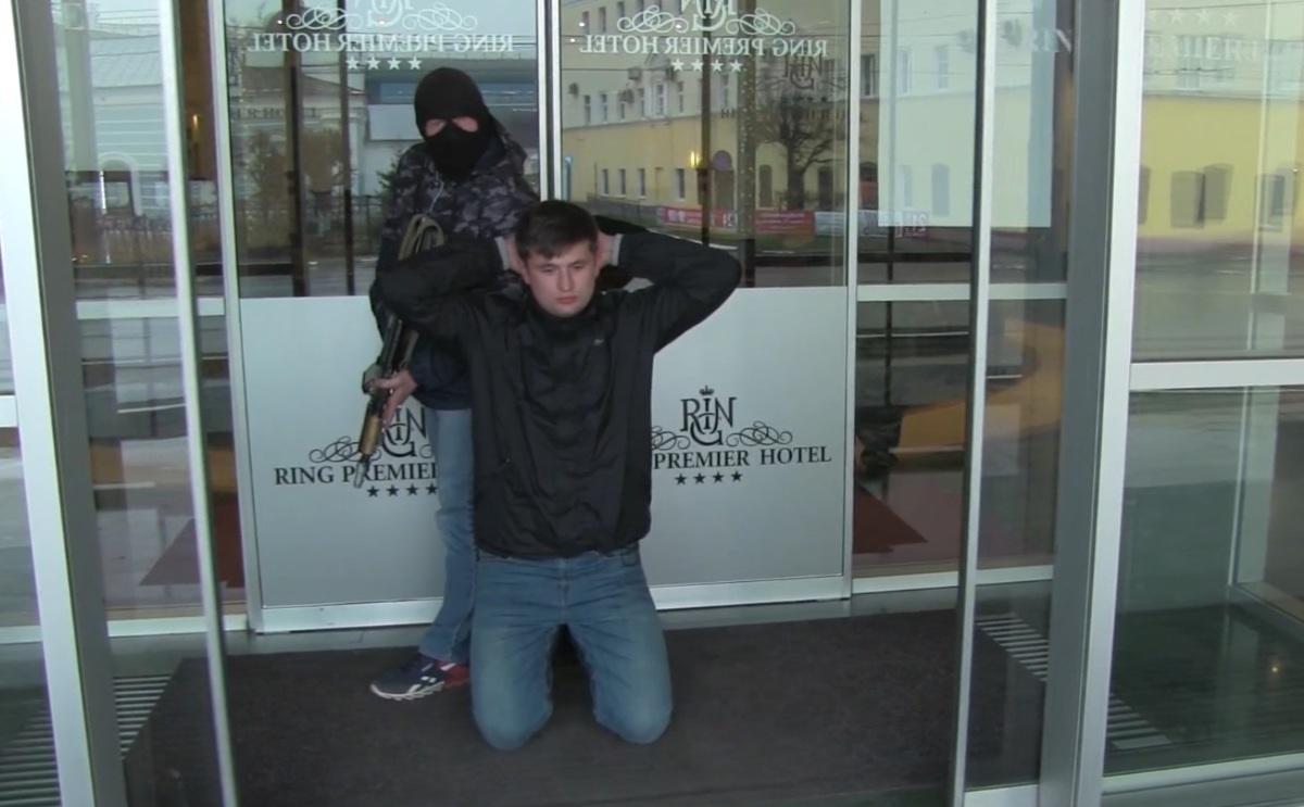 Антитеррористические учения прошли в центре Ярославля: видео