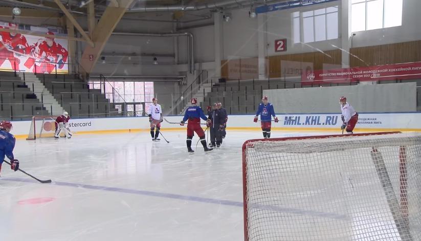 Хоккеисты «Локомотива» ушли в отпуск: видео последней тренировки