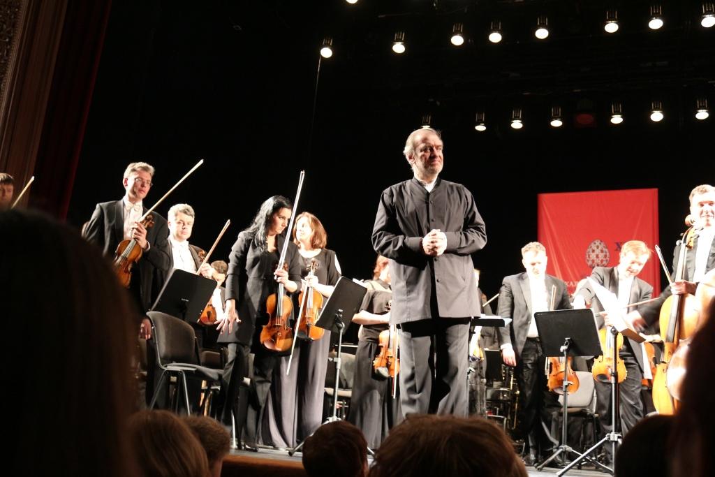 В Ярославле выступил оркестр Мариинского театра под управлением Валерия Гергиева: фото