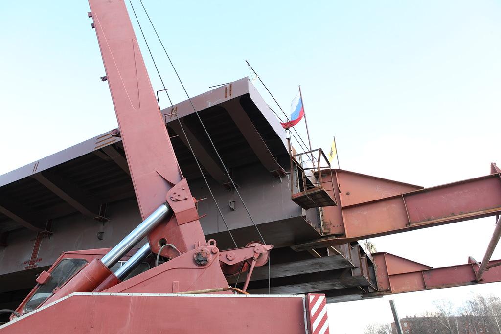 Срок сдачи моста через Которосль в Ярославле переносится из-за паводка