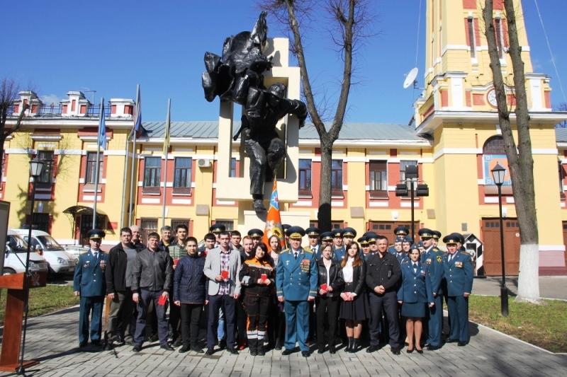 В Ярославле отметили 369-ю годовщину со дня создания пожарной охраны РФ