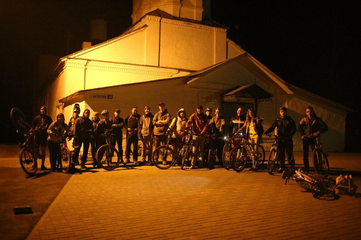 На работу из Брагина на Нефтестрой на велосипеде. В Ярославле открылся велосезон