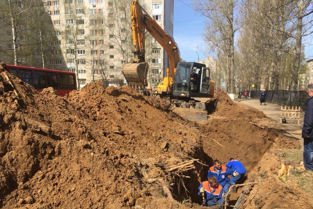 Завершен ремонт водопровода на десяти улицах, вошедших в федеральный проект «Безопасные и качественные дороги»