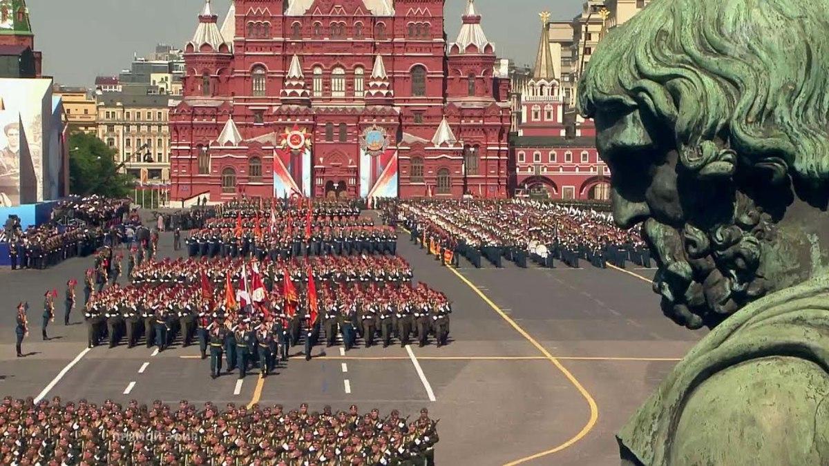 Во время парада в День Победы по Красной площади в Москве проедет техника из Рыбинска