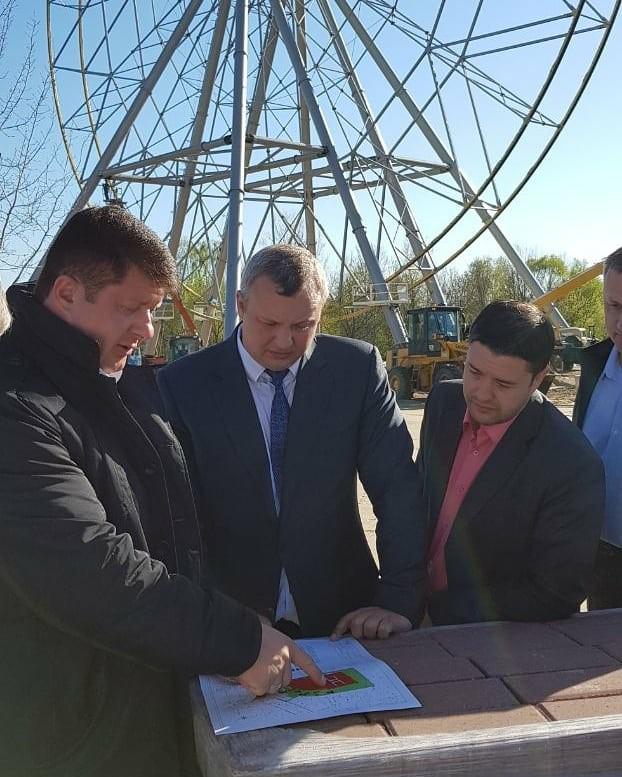 Стала известна дата открытия колеса обозрения в Ярославле