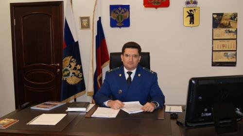Стало известно, сколько заработал за год прокурор Ярославской области