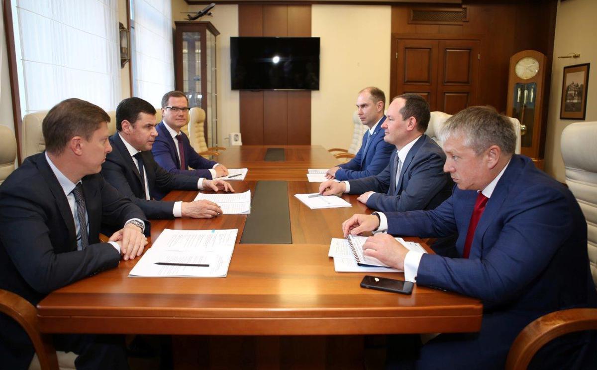 «Россети» и Ярославская область продолжат сотрудничество для развития и внедрения цифровых технологий в ЭСК