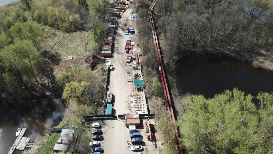 Для завершения строительства моста через Которосль подрядчик привлекает дополнительные силы