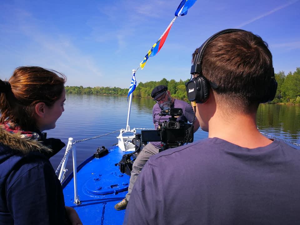 В Ярославской области снимают кино про Волгу для федерального канала