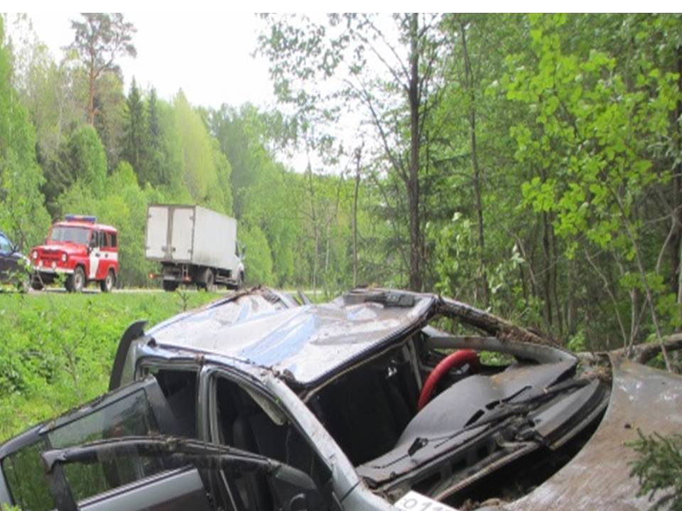 В Ярославской области два автомобиля вылетели в кювет: двое пострадавших