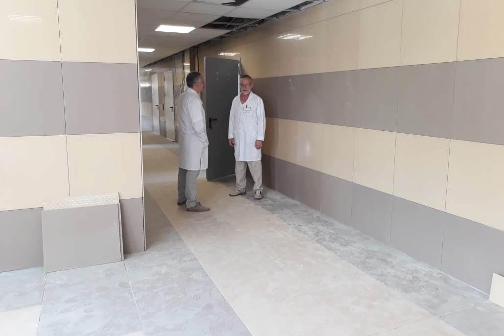 Завершается капитальный ремонт одного из хирургических отделений больницы №9 Ярославля
