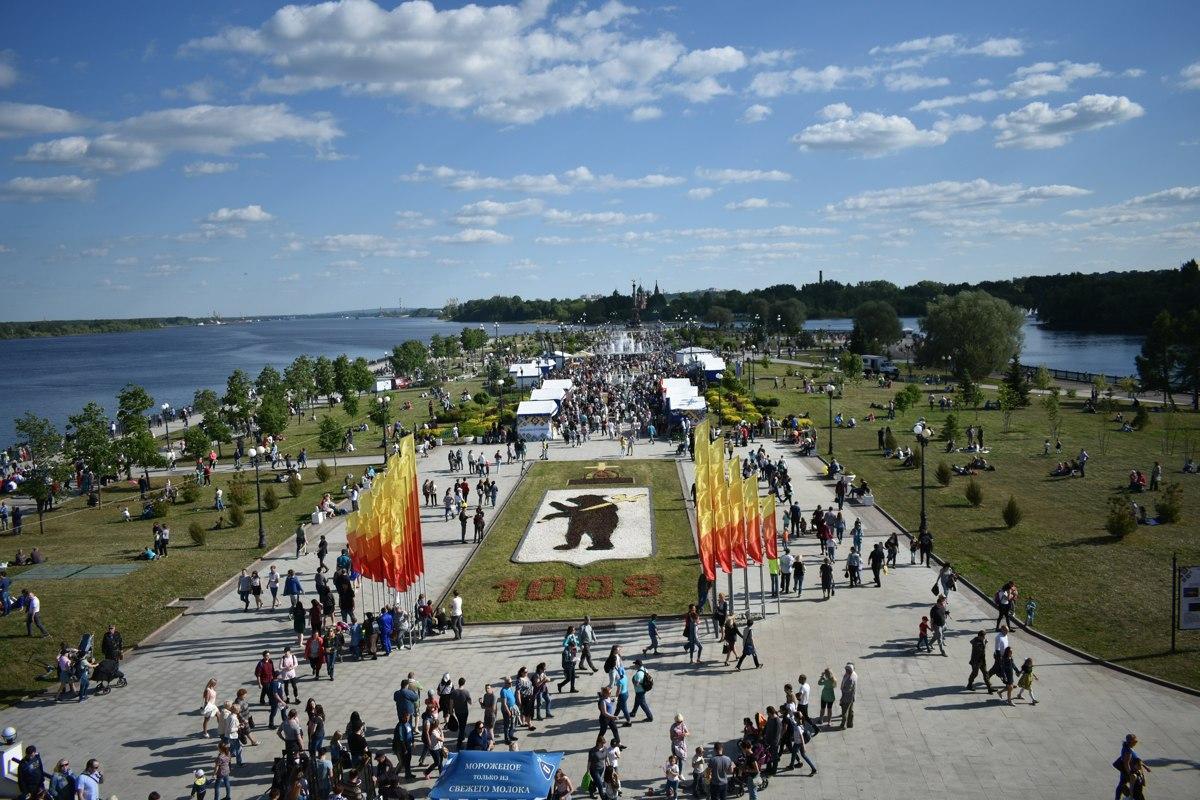 В Ярославле празднуют День города: программа