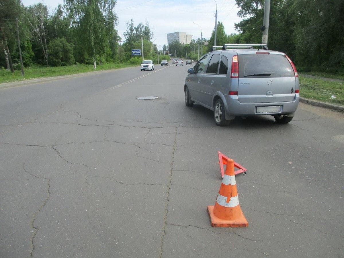 В Рыбинске иномарка сбила велосипедиста