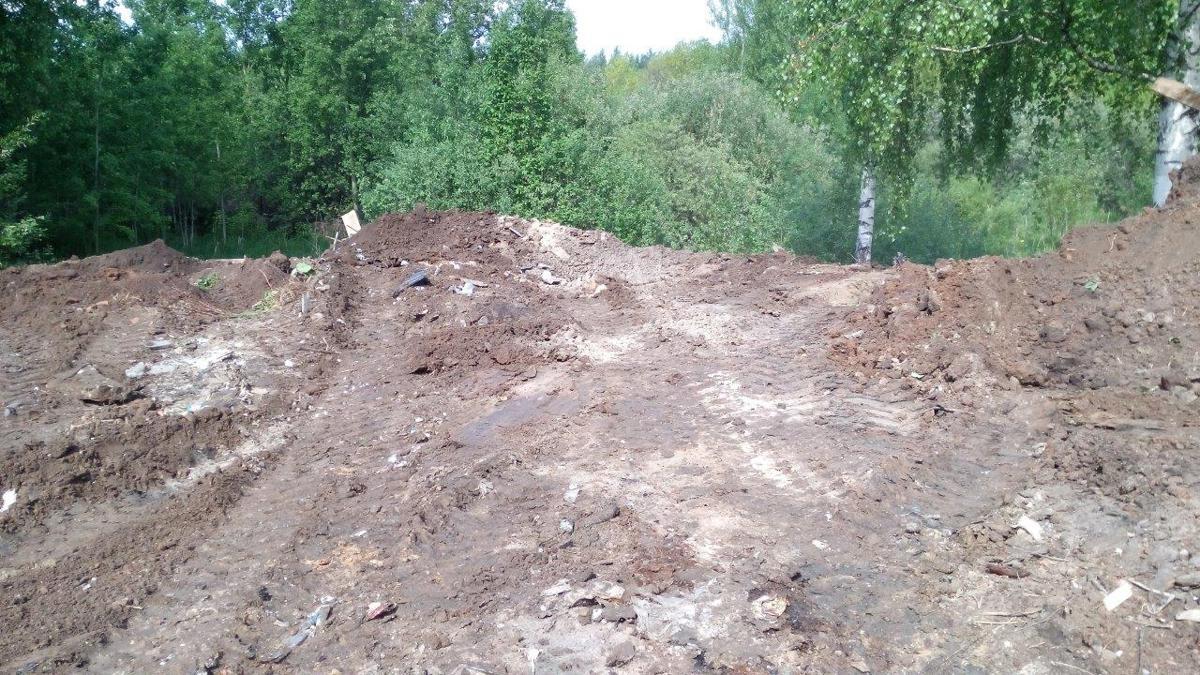 В Ярославле ликвидированы три несанкционированные свалки объемом более тысячи кубометров