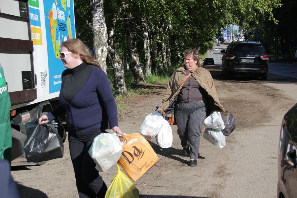 В Ярославле провели акцию по раздельному сбору мусора