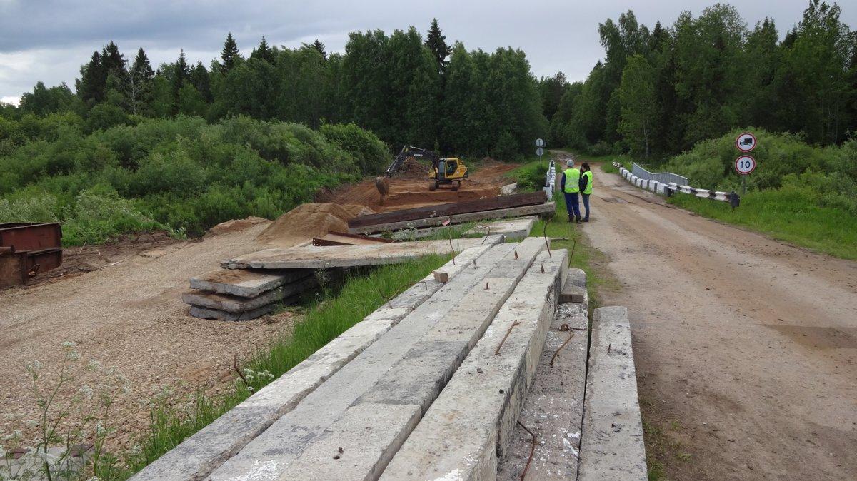 В Ярославской области началась реконструкция моста
