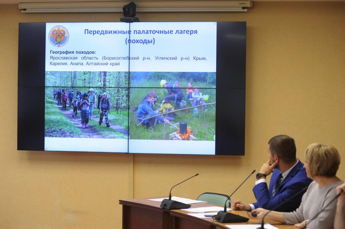 В туристических соревнованиях, профильных и тематических сменах приняли участие 36 тысяч юных ярославцев