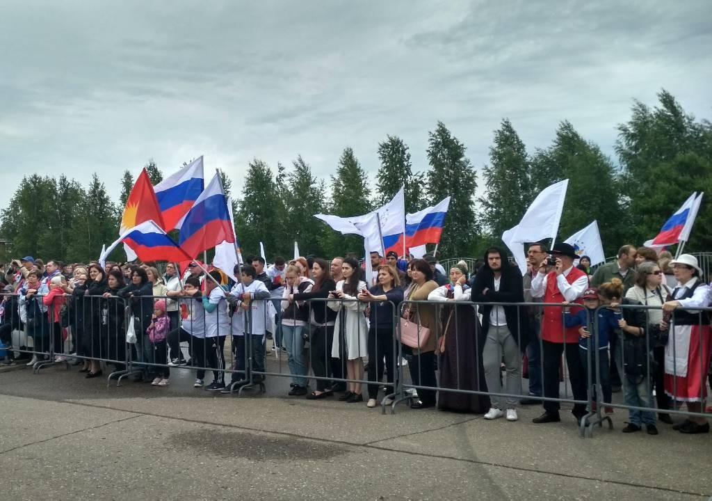 В Ярославле празднуют День России