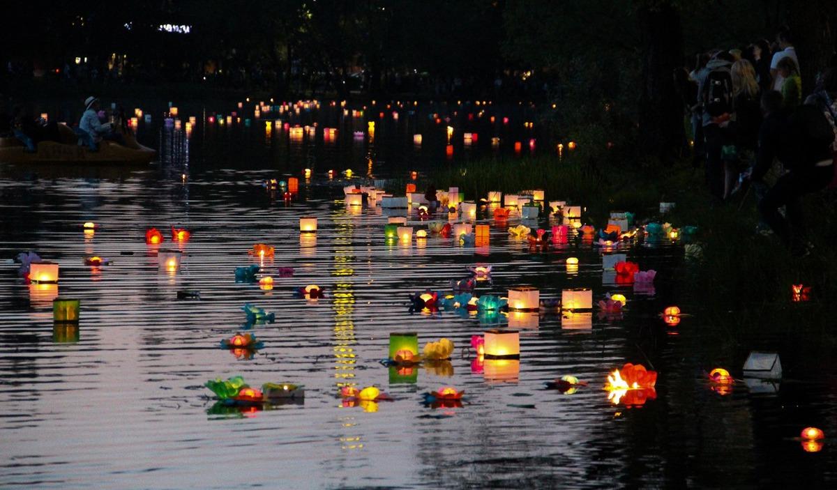 В Ярославле пройдет фестиваль водных фонариков
