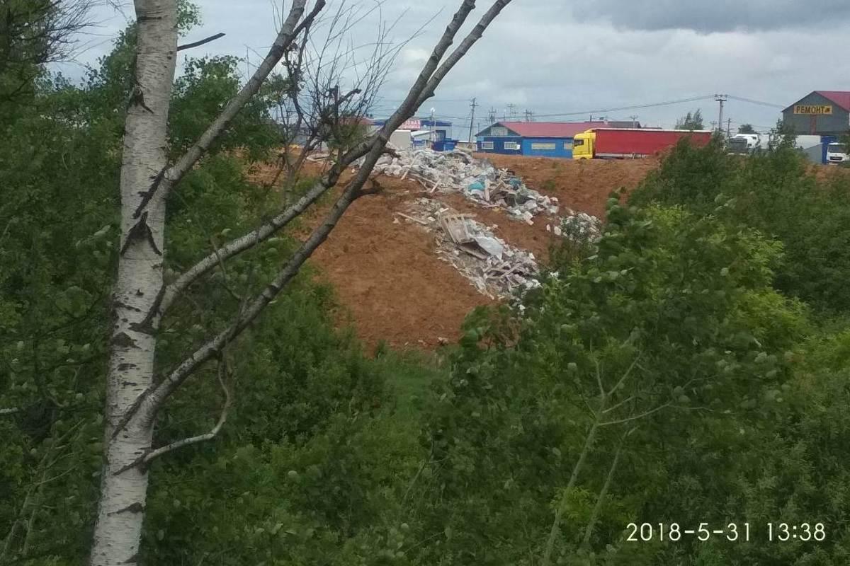 В Ярославле ликвидировали свалку у въездной стелы в город