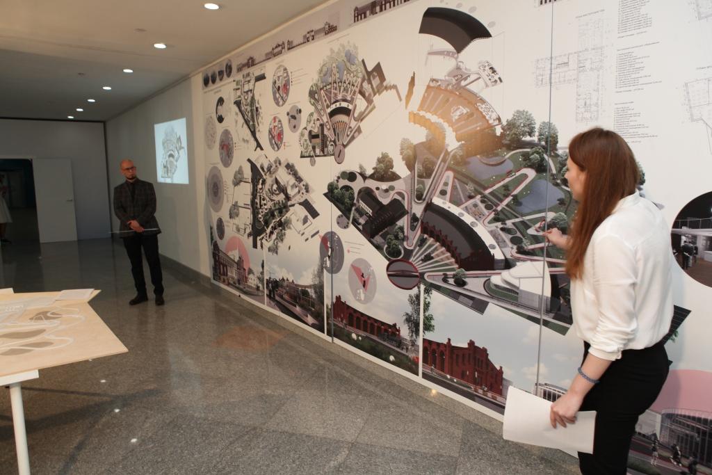 Ярославские выпускники-архитекторы защитили квалификационные работы