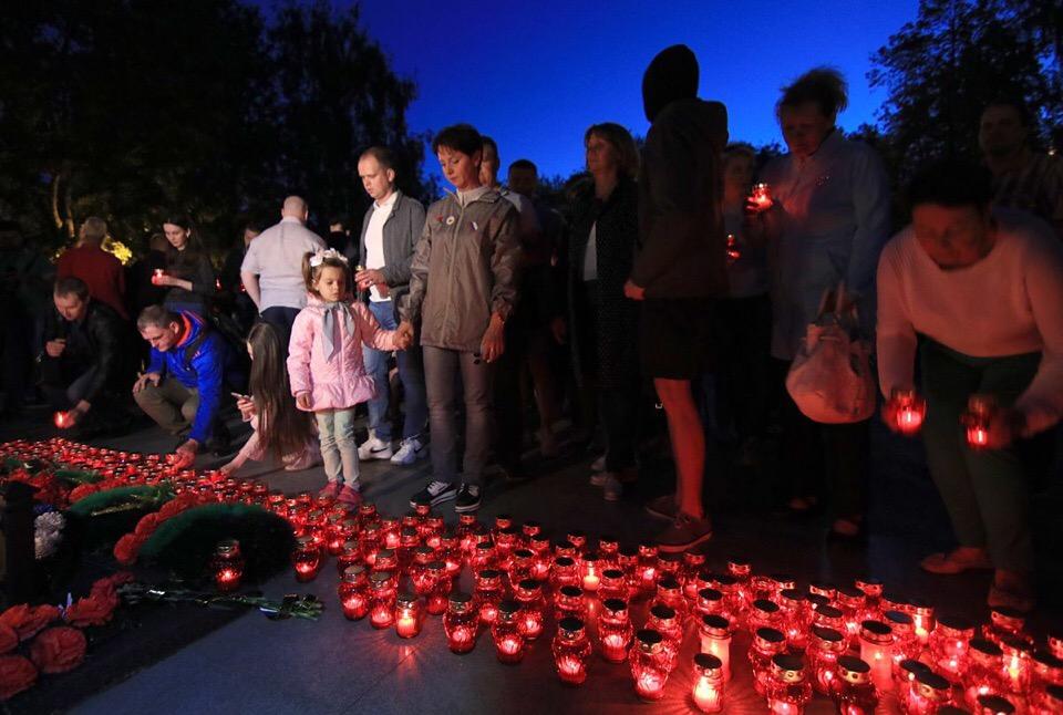 В Ярославле прошла акция «Свеча памяти»