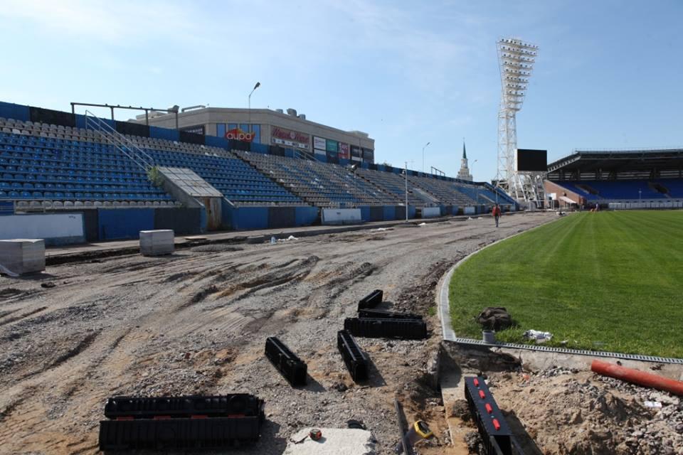 Ремонт стадиона «Шинник» завершится к концу августа - Миронов