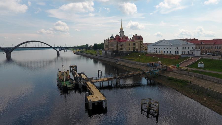 В Рыбинске завершено строительство причала