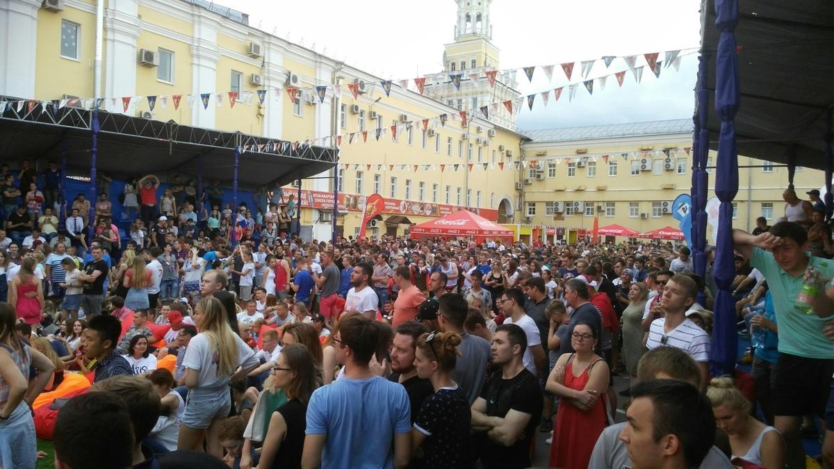 Полторы тысячи ярославцев стали свидетелями победы сборной России над Испанией