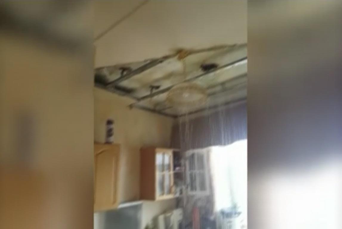 при опрессовке затопило квартиру