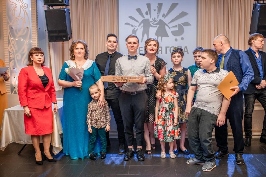 Семья Мареевых из Ярославля признана лучшей в регионе в этом году