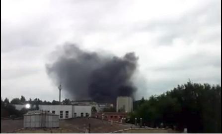 Столб черного дыма поднимается на Рыбинском: что горит