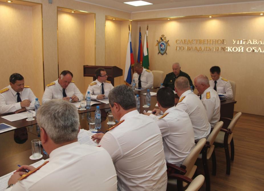 Главный следователь Ярославской области отчитался о ситуации в регионе перед Александром Бастрыкиным