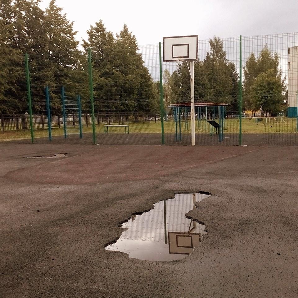 Спортплощадки в Ярославле опасны для детей