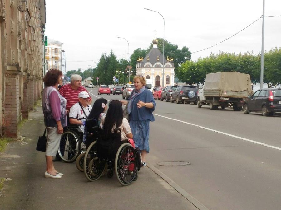 В Рыбинске организуют бесплатные экскурсии по городу для инвалидов