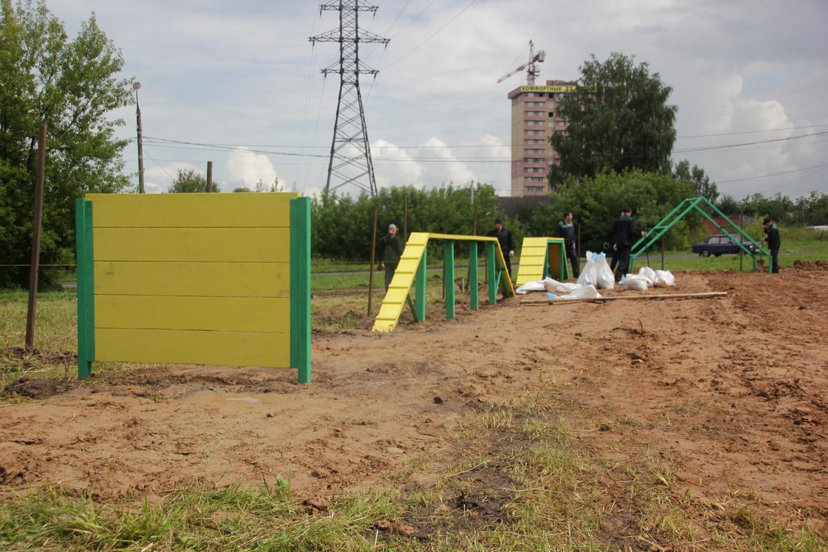 В Ярославле появится новая площадка для выгула собак