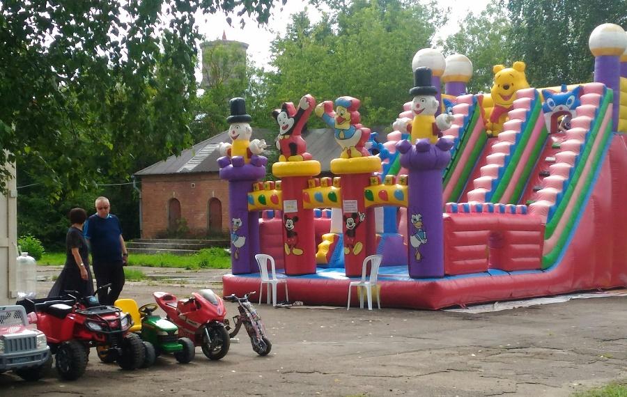 В Рыбинске восстановили один из самых крупных детских парков города