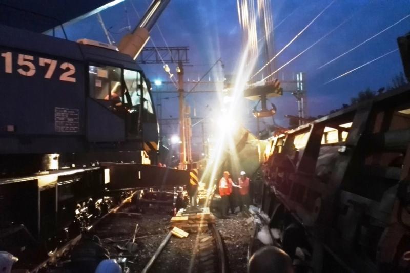 В Ярославле следователи заинтересовались сходом пяти грузовых вагонов с рельсов