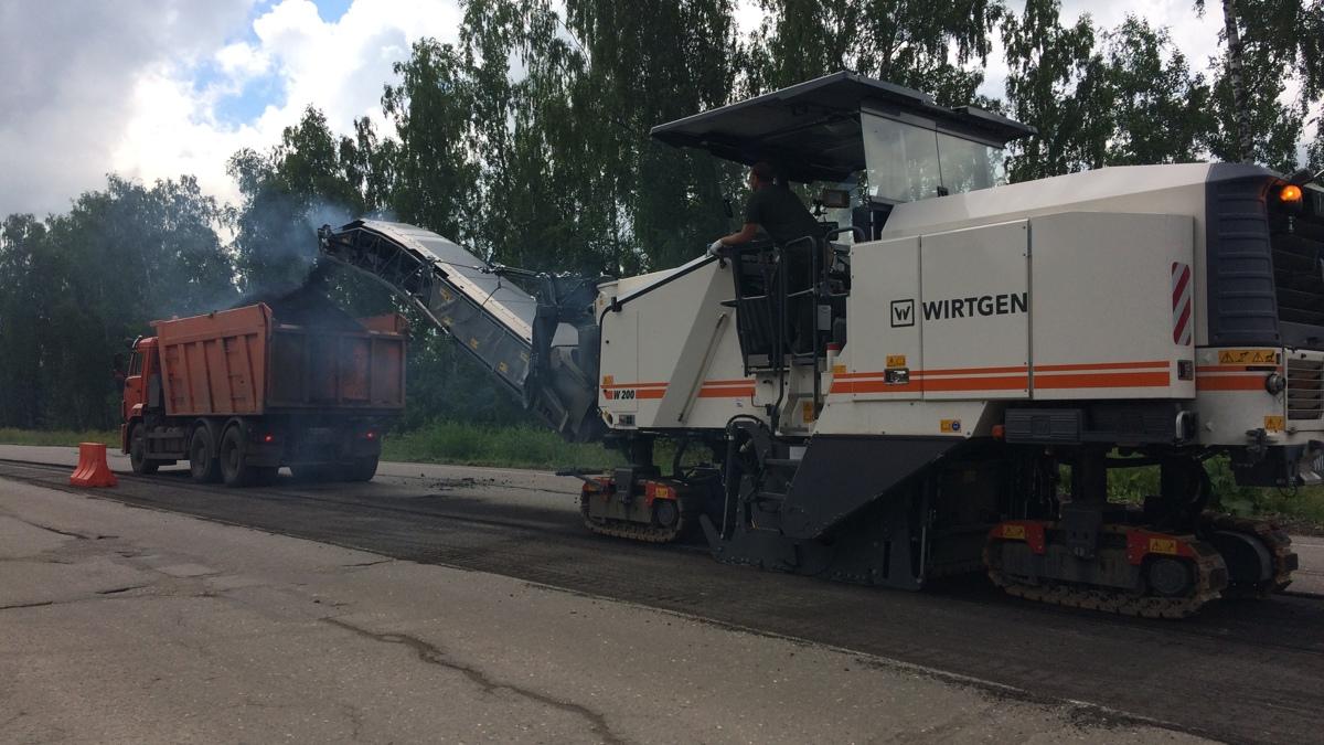 Начался ремонт на автомобильной дороге Ярославль – Рыбинск
