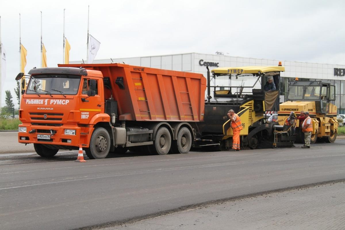 Рыбинск получит еще 400 миллионов рублей на ремонт дорог уже в этом году