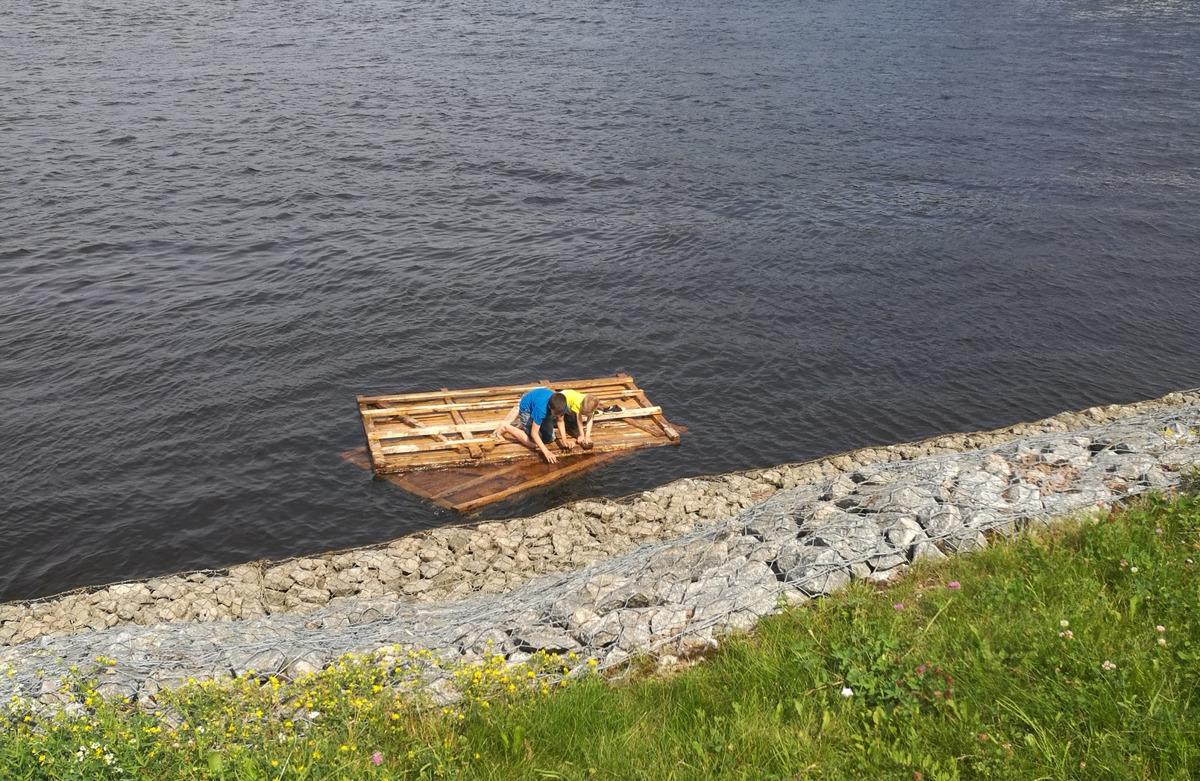 В Рыбинске прохожие спасли двоих детей на Волге
