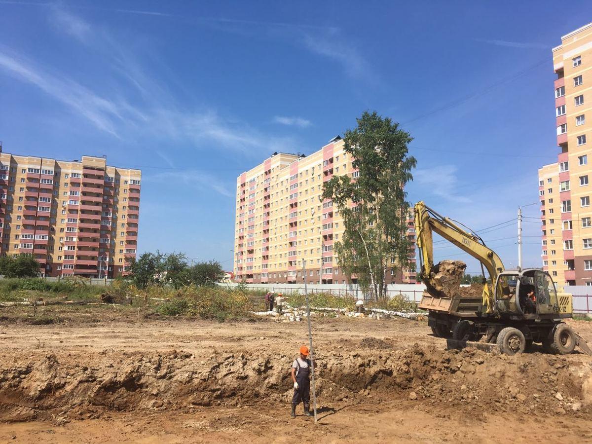 В Ярославле начали строить новый детский сад