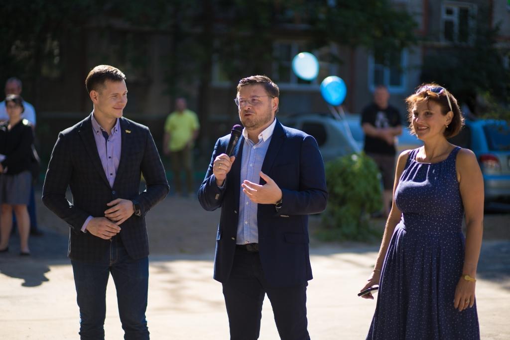 В Ярославле завершилось благоустройство нескольких дворов по программе «Решаем вместе!»