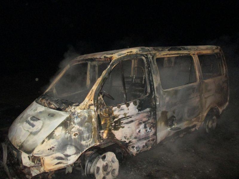 В Ярославской области мстительный бомж поджег «Газель» и автосервис