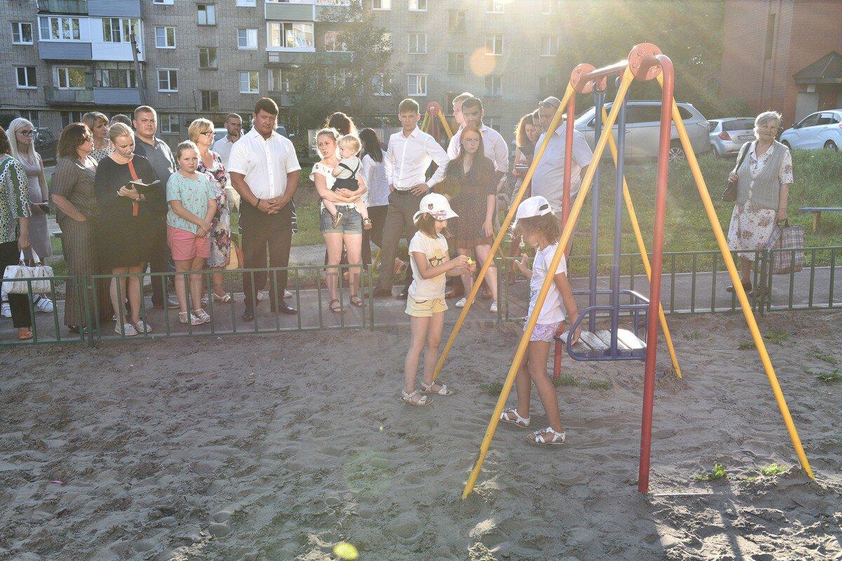 В центре Ярославля благоустроили еще один двор по программе «Решаем вместе!»