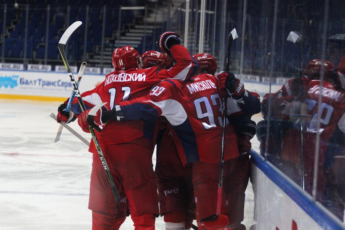 «Локо» одержал вторую победу на турнире в Санкт-Петербурге